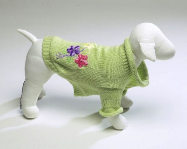 Flower Sweater - Green
