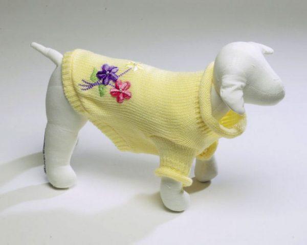 Flower Sweater - Yellow