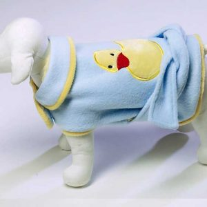 Cute Ducky Bathrobe - Blue