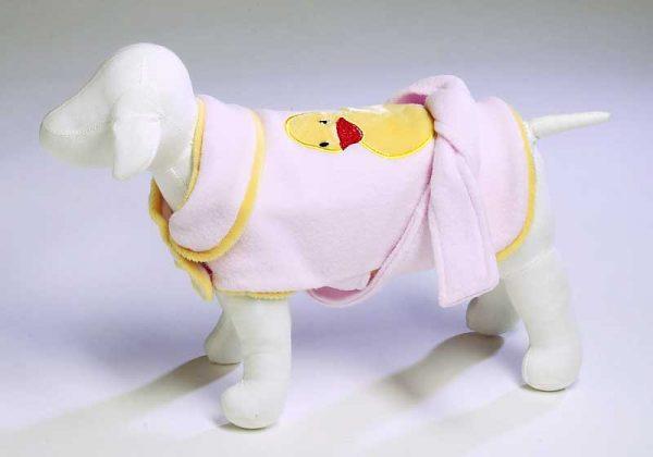 Cute Ducky Bathrobe - Pink