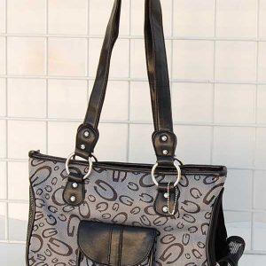Classic Designer Bag Pet Carrier