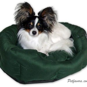 Round Snuggle Bed - Green