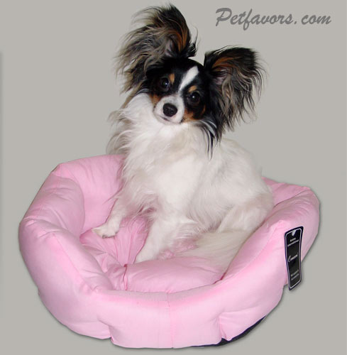 Round Snuggle Bed - Pink