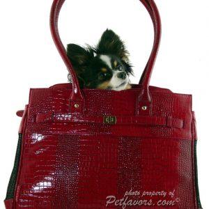 Monaco Pet Carrier - Red