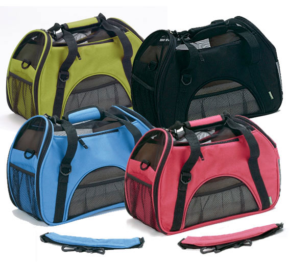 Comfort Carriers - Blue, Green, Raspberry and Black