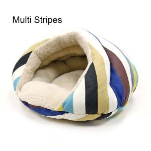 Burger Pet Bed - Multi Stripes