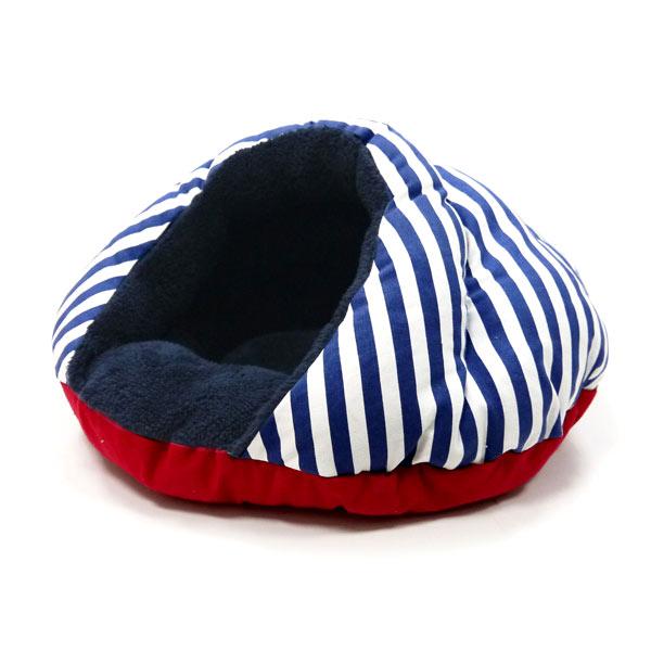 Burger Pet Bed - Nautical
