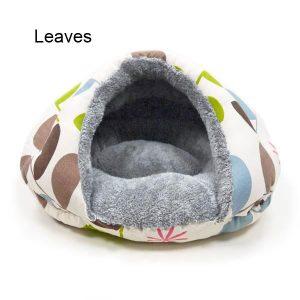 Burger Pet Bed - Leaves