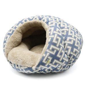 Burger Pet Bed - Geometric