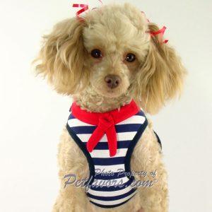 EasyGo Sailor Harness & Leash Set with free Crystal Anchor Charm