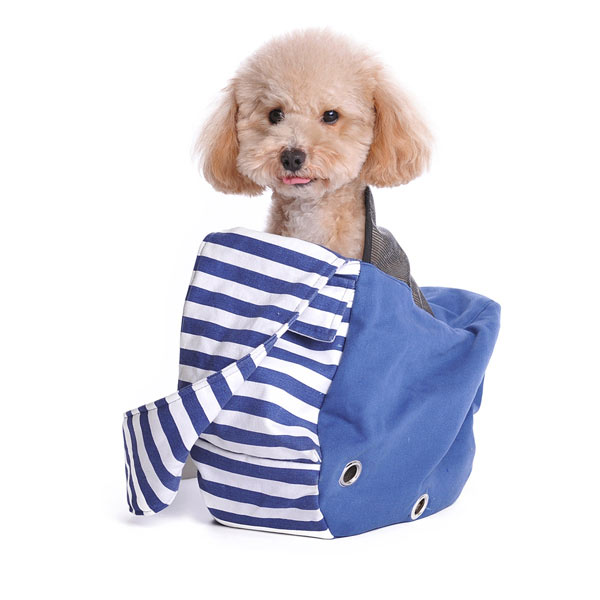Soft Sling Pet Carrier - Blue
