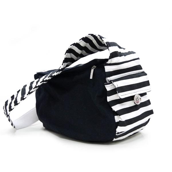 Soft Sling Pet Carrier - Black