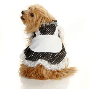 Pinafore Dress - Black