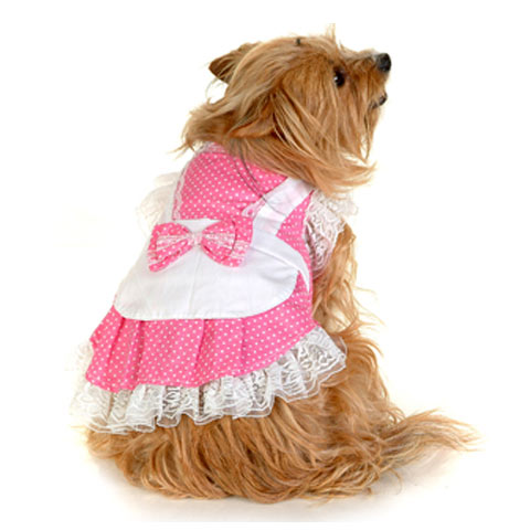 Pinafore Dress - Pink