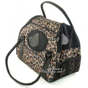 Carry-Me Deluxe Pet Carrier - Cheetah
