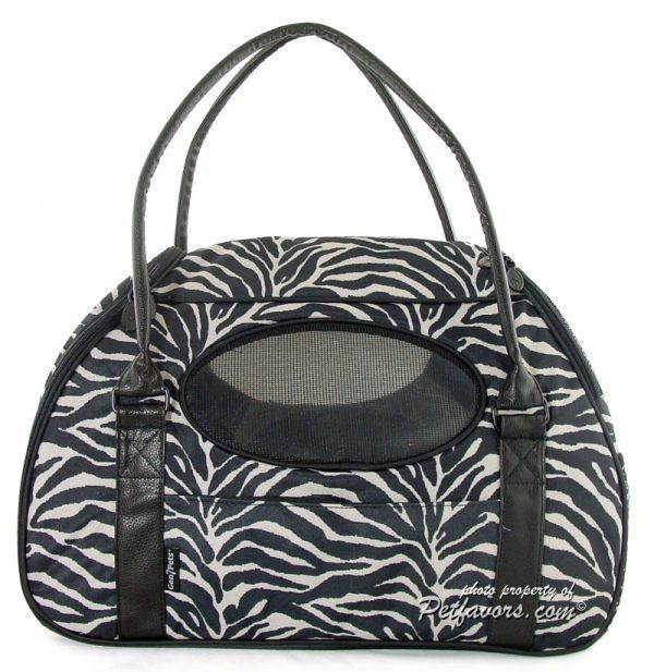 Carry-Me Deluxe Pet Carrier - Zebra
