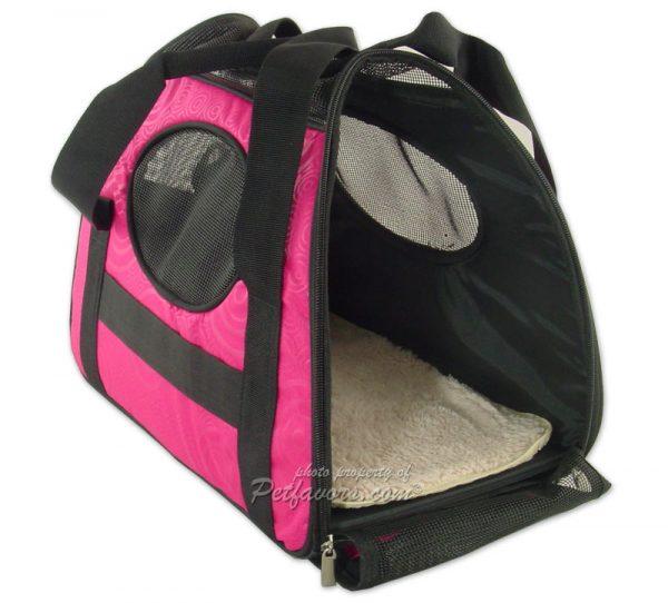 Carry-Me Pet Carrier - Raspberry