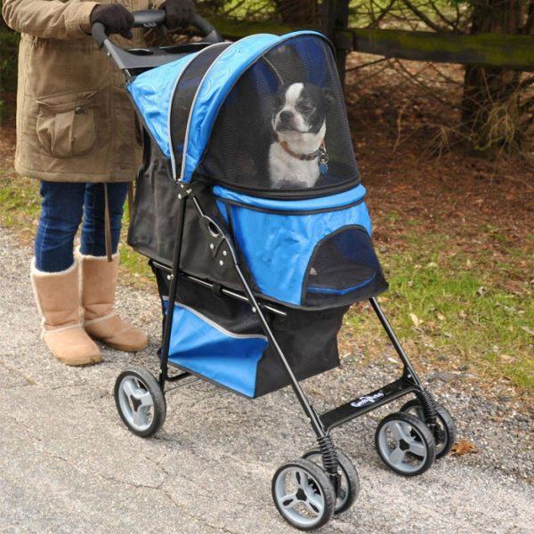 Pet Stroller - Blue