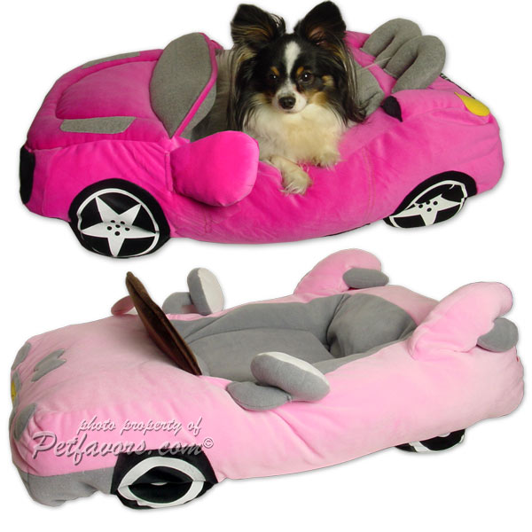 Furry Tails Sportscar Pet Beds