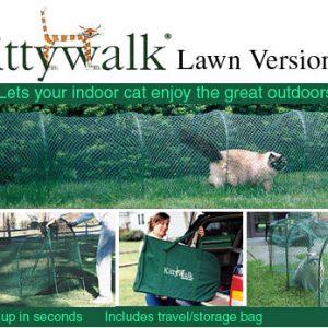Kittywalk Lawn Version Cat Enclosure