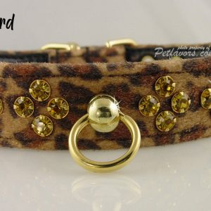 Animal Print Collection - Collars and Leashes - Leopard