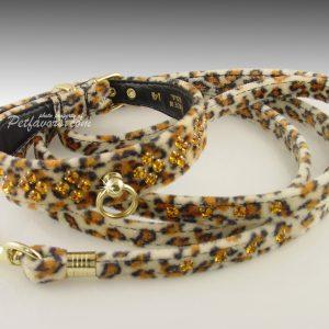 Animal Print Collection Leash - Jaguar