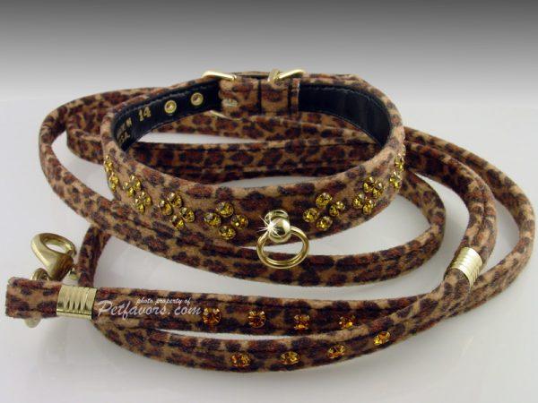 Animal Print Collection Leash - Leopard