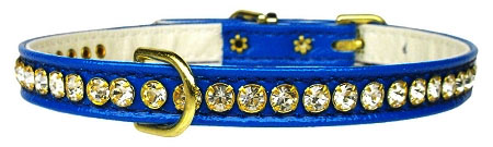 Crystal Beverly Collar - Blue
