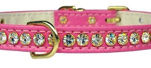 Crystal Beverly Collar - Pink