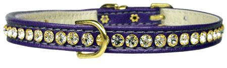 Crystal Beverly Collar - Purple