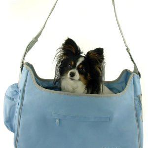 New York Dog Hobo Carrier - Blue