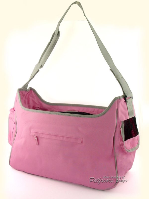 New York Dog Hobo Carrier - Pink