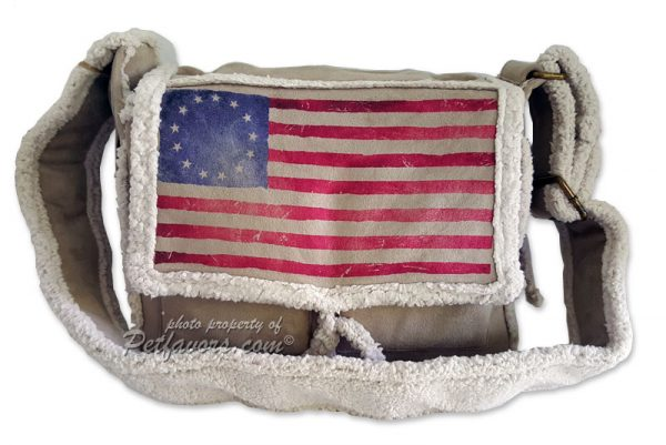 Betsy Ross Pony Express Pet Carrier by PetFlys