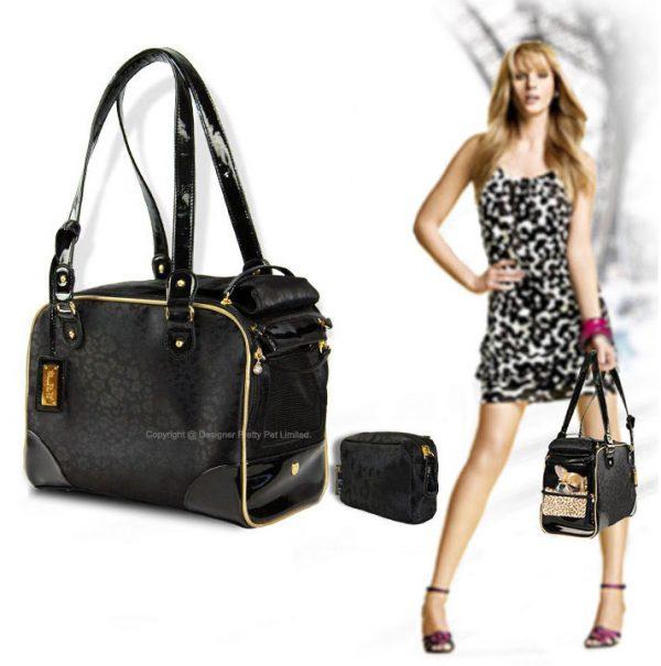 Pretty Pet Leopard Bag