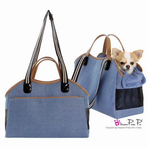 Pretty Pet Tote - Blue