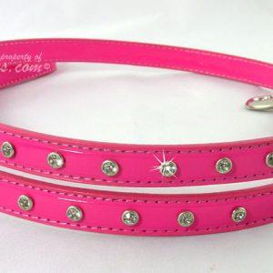 Pink Leash for Biker Jacket