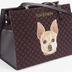 Needlepoint Pet Carriers - Chihuahua