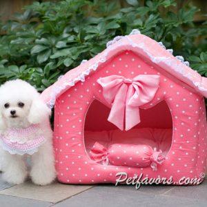 Polka Dot Dream House - Pink